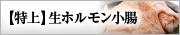 【特上】生ホルモン小腸