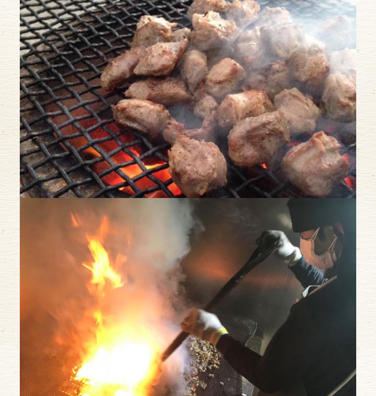 国産豚ハラミ炭火焼き