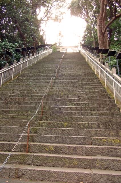 愛宕神社 階段