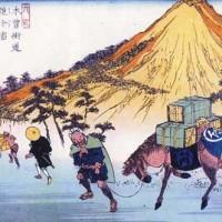長野へ馬を運ぶばくろうが文化を創った