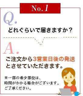 よくある質問NO.1
